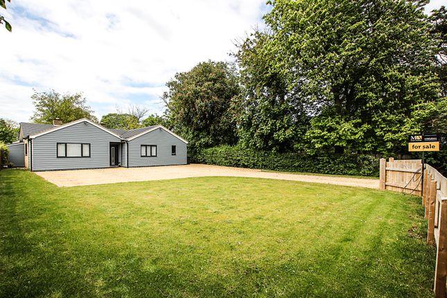 Thumbnail Detached bungalow for sale in Dullingham Road, Newmarket