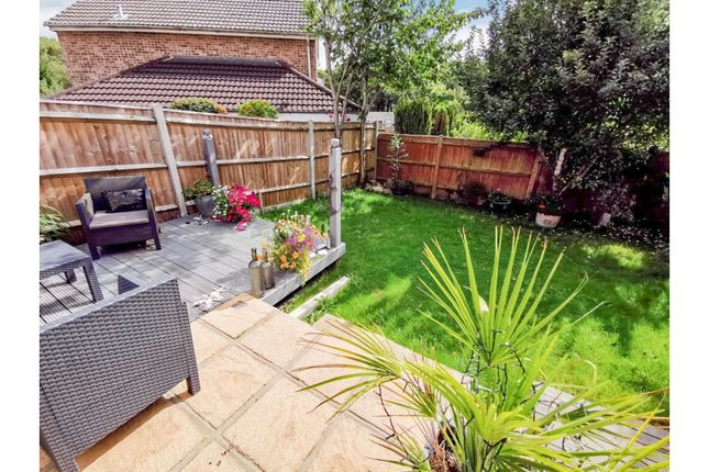 Rear Garden of Sandpiper Road, Lordswood, Southampton SO16