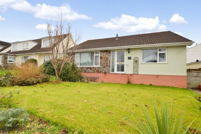 Thumbnail Detached bungalow for sale in Sunnybanks, Hatt, Saltash, Cornwall