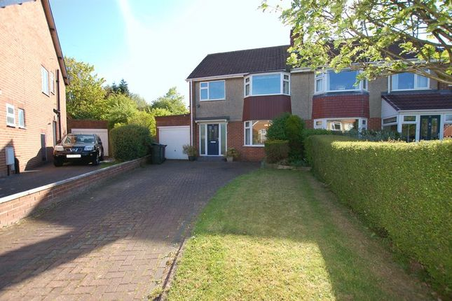 3 bed semi-detached house for sale in The Oval, Woolsington, Newcastle Upon Tyne