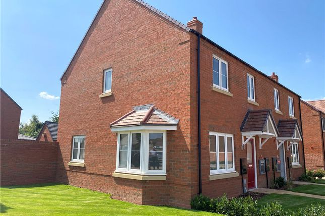 Thumbnail Semi-detached house for sale in Brownes Way, Hallow, Worcester