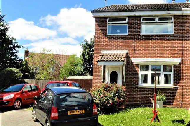 Thumbnail Semi-detached house for sale in Ashwood Close, Hartlepool