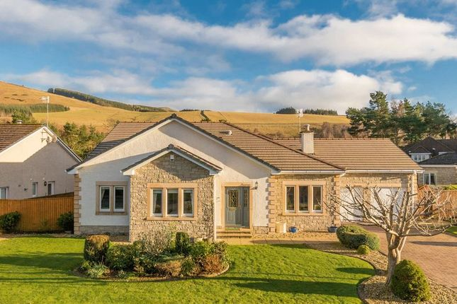 Thumbnail Detached bungalow for sale in 33 St. Bryde's Way, Cardrona, Peebles