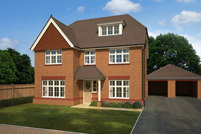"Thumbnail Detached house for sale in ""Highgate 5"" at Ferard Corner, Warfield, Bracknell"