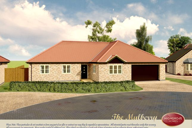 Thumbnail Detached bungalow for sale in Cobgate, Whaplode, Spalding