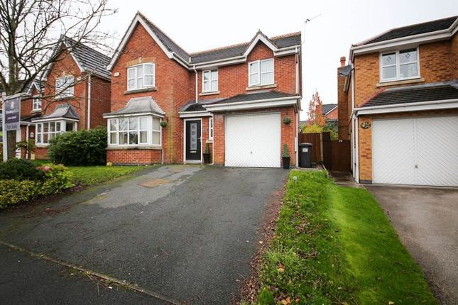 Thumbnail Detached house for sale in Bannister Way, Wigan