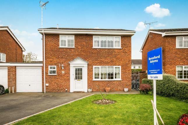 Thumbnail Detached house for sale in Grosvenor Crescent, Rossett, Wrexham, Wrecsam
