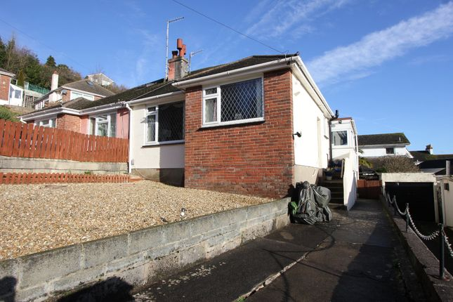 Thumbnail Semi-detached bungalow for sale in Rossall Drive, Paignton
