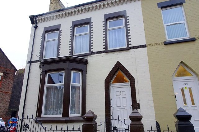 Thumbnail End terrace house for sale in Anfield Road, Anfield, Liverpool