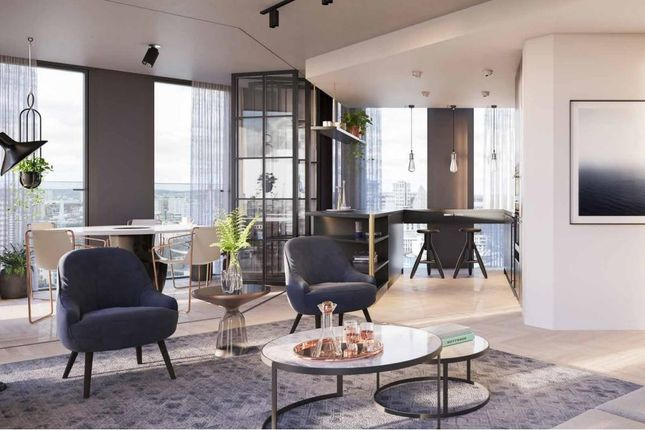 1 bed flat for sale in One Crown Place, Liverpool Street EC2A