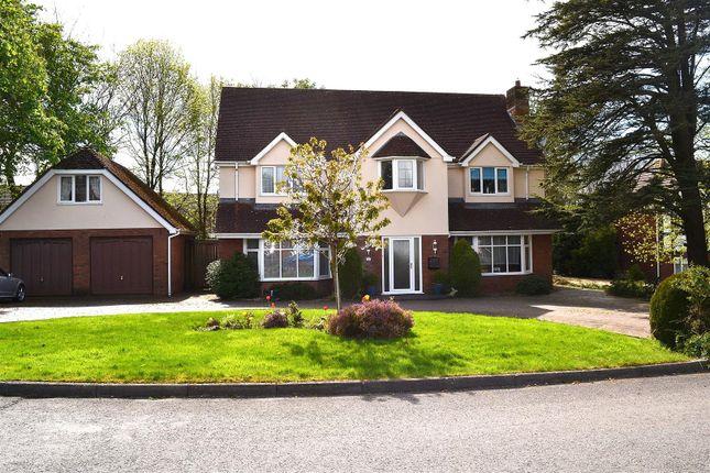 Thumbnail Detached house for sale in Clos Bryngwyn, Gorseinon, Swansea
