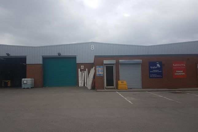 Thumbnail Warehouse to let in Unit 8, Ripley Close, Normanton, West Yorkshire