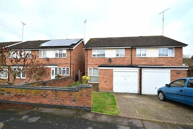 Thumbnail Semi-detached house to rent in Burghley Close, Stevenage