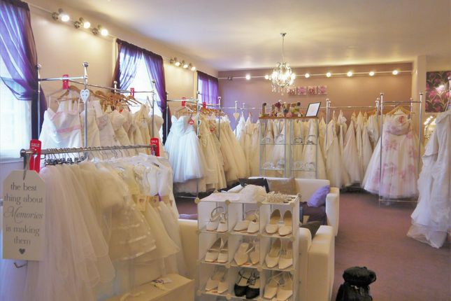 Thumbnail Retail premises for sale in Bridal Wear WF10, West Yorkshire