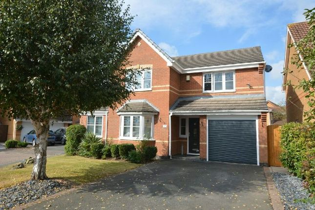 Thumbnail Detached house for sale in Worsh Close, Whetstone, Leicester