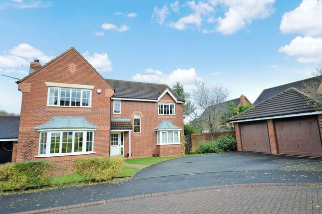 Thumbnail Detached house for sale in Stoneleigh Grove, Muxon, Telford, Shropshire.