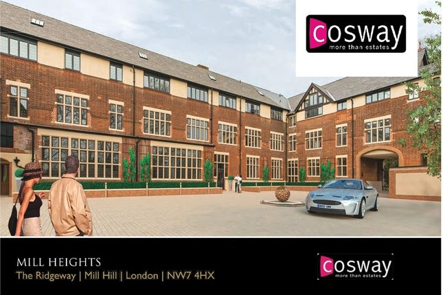 Thumbnail Flat for sale in Mill Heights, The Ridgeway, Mill Hill