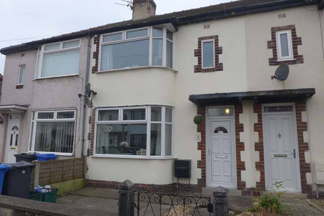 Thumbnail Terraced house for sale in Ullswater Avenue, Thornton-Cleveleys