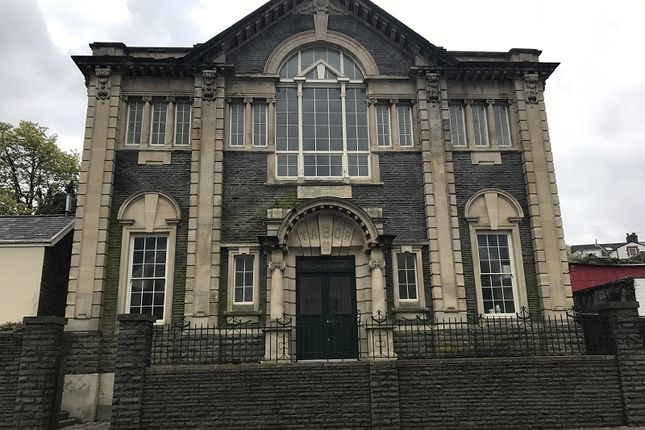 Thumbnail Flat to rent in Apartment 6 Tabor Chapel, Commercial Street, Maesteg, Bridgend.