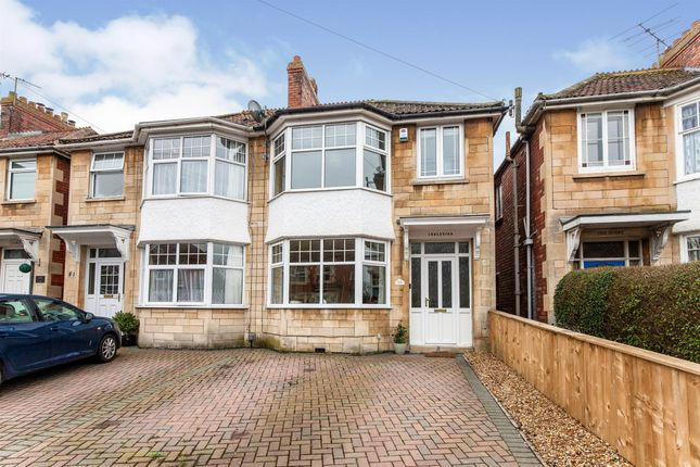 Thumbnail Semi-detached house for sale in Bradford Road, Trowbridge