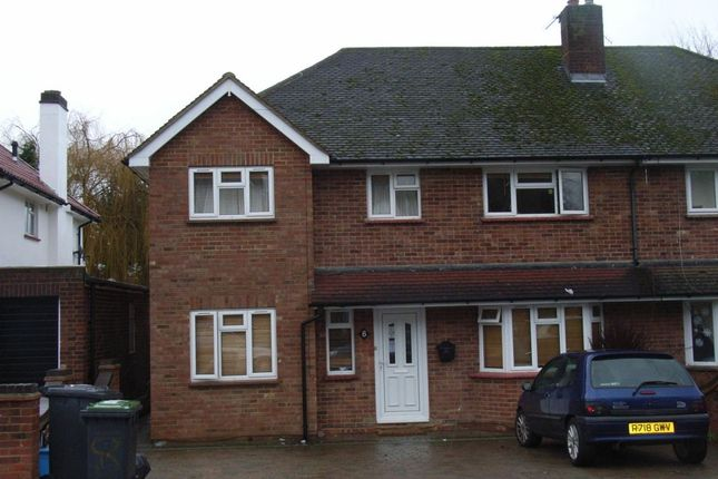 Thumbnail Semi-detached house to rent in Spring Rise, Egham
