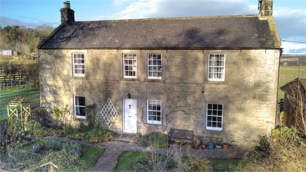 Thumbnail Detached house for sale in Old Town Farm, Otterburn