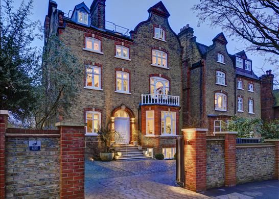 Thumbnail Detached house for sale in Holford Road, London