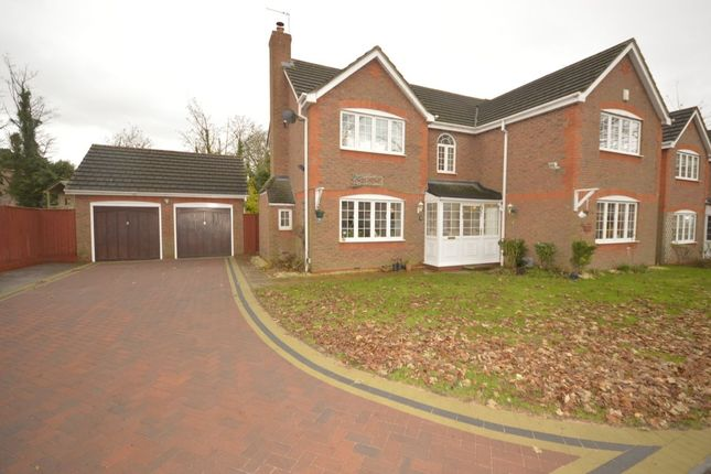 Thumbnail Detached house for sale in Wood Hayes Croft, Wolverhampton