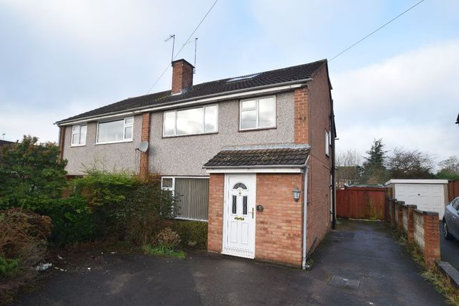 Thumbnail Semi-detached house to rent in Springfield Avenue, Newport