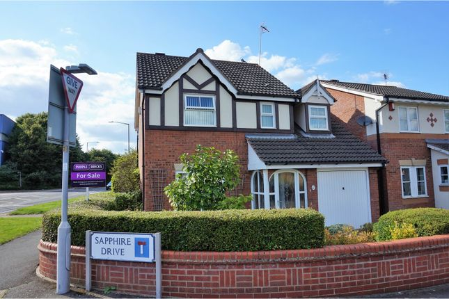 Thumbnail Detached house for sale in Sapphire Drive, Leamington Spa