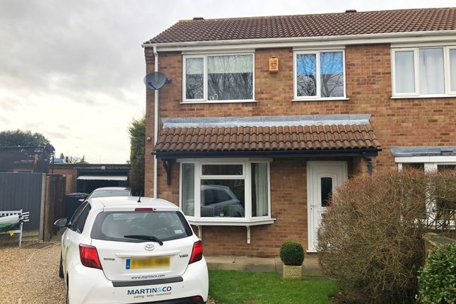 Semi-detached house to rent in Beaufort Close, Lincoln
