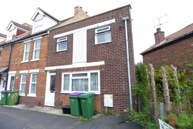 Thumbnail Terraced house for sale in Gladstone Road, Folkestone