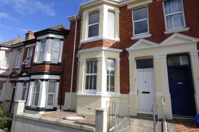 Thumbnail Terraced house to rent in Lipson Road, Lipson, Plymouth