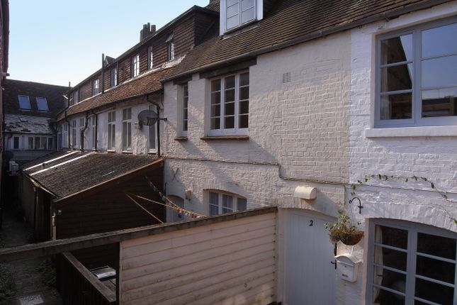 Thumbnail Semi-detached house to rent in High Street, Marlborough