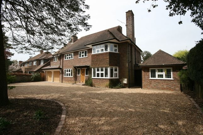 Thumbnail Detached house to rent in West Common Way, Harpenden, Hertfordshire