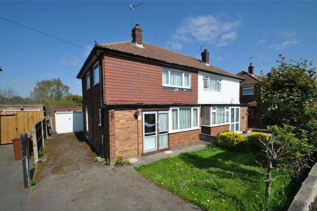 Thumbnail Semi-detached house for sale in Meadow Way, Potters Bar, Hertfordshire