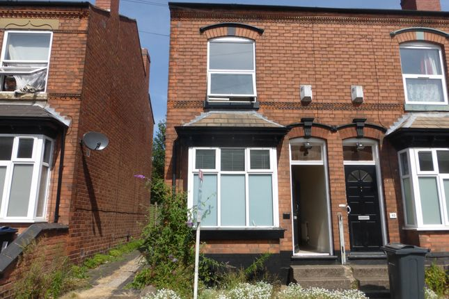 Thumbnail End terrace house to rent in Oscott Road, Perry Barr, Birmingham