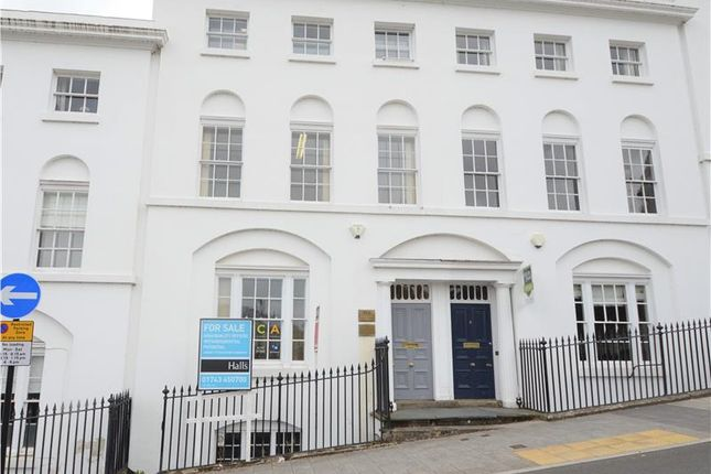Thumbnail Office for sale in Offices/Potential Residential Opportunity, 4 Claremont Bank, Shrewsbury, Shropshire