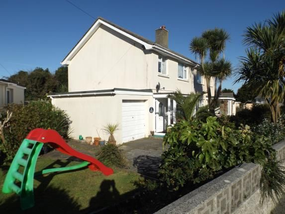 Thumbnail Semi-detached house for sale in North Roskear, Camborne, Cornwall