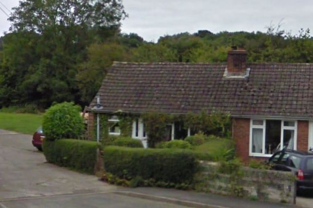 Thumbnail Terraced bungalow to rent in Arrow View, Lower Hergest, Kington