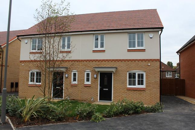Thumbnail Semi-detached house to rent in Plot 42, Weaver, The Boulevard