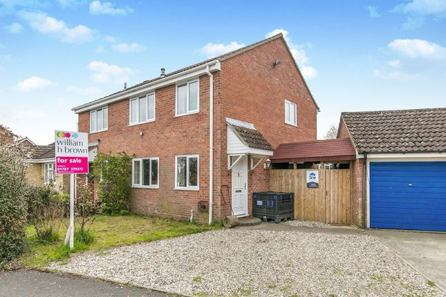 Thumbnail 3 bed end terrace house for sale in Kings Road, Glemsford, Sudbury