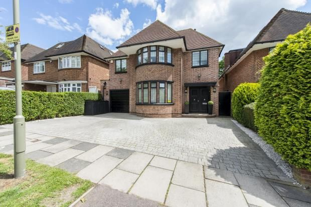 Thumbnail Detached house for sale in Connaught Drive, Suburb Borders, London