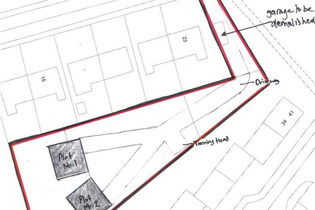 Thumbnail Land for sale in Station Road, Blackhall, Hartlepool