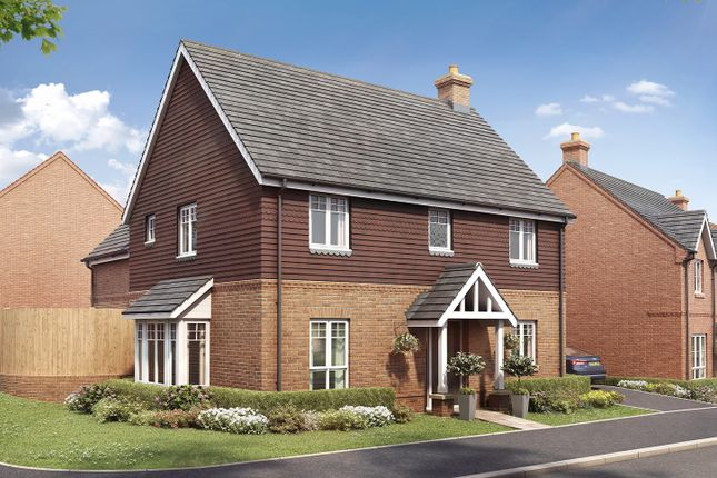 """Thumbnail Detached house for sale in """"The Fairford"""" at Boorley Green, Winchester Road, Botley, Southampton, Botley"""