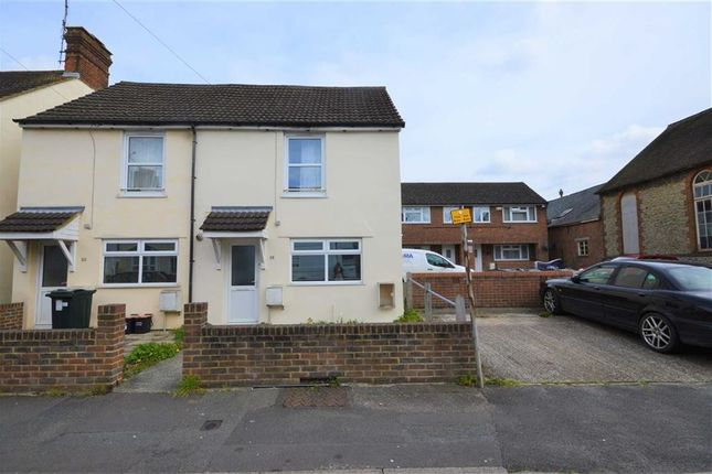 Thumbnail Semi-detached house to rent in Lower Denmark Road, Ashford, Kent