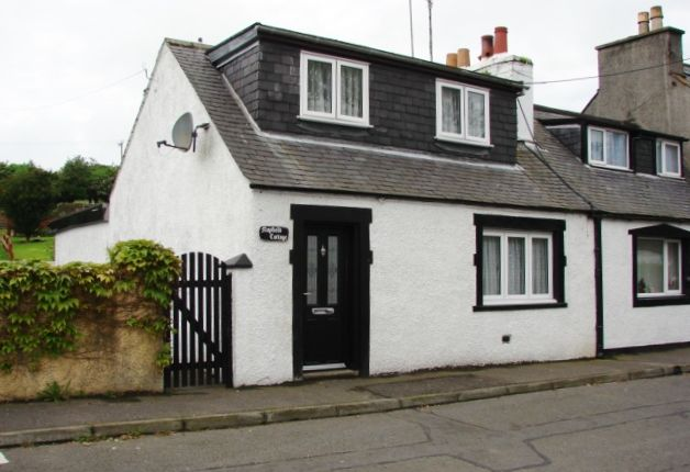 Thumbnail End terrace house for sale in 66 Main Street, Kirkcolm