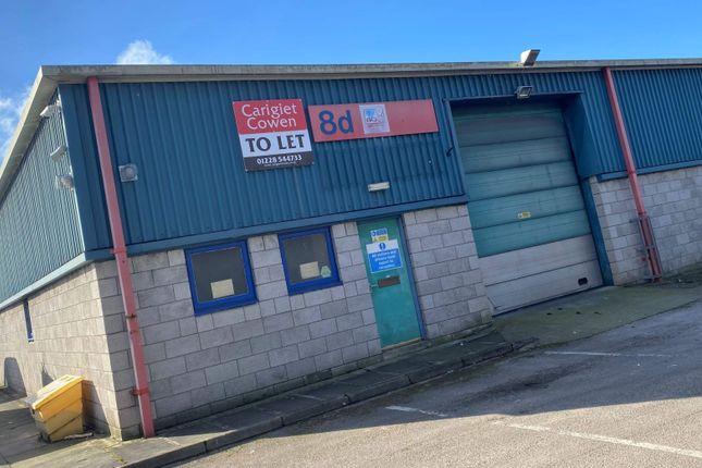 Thumbnail Industrial to let in Port Road Business Park, Unit 8D, Carlisle