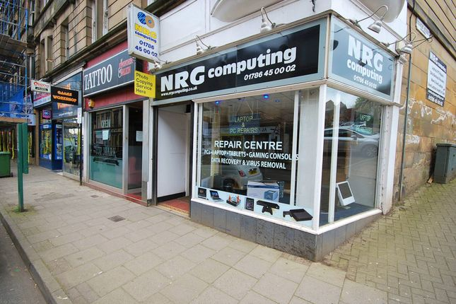 Thumbnail Retail premises to let in Barnton Street, Stirling
