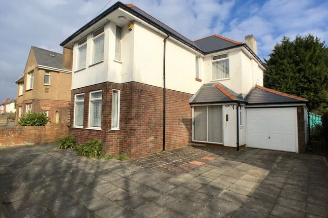 Thumbnail Detached house for sale in Ashgrove, Whitchurch, Cardiff